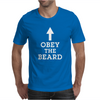 Obey The Beard Funny Mens T-Shirt