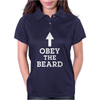 Obey The Beard Womens Polo