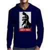 Obey this finger! Mens Hoodie