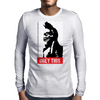 Obey this finger! Mens Long Sleeve T-Shirt