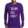Occupy All Streets As Seen On Jay Mens Long Sleeve T-Shirt