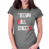 Occupy All Streets As Seen On Jay Womens Fitted T-Shirt