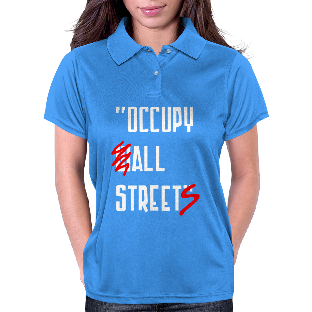 Occupy All Streets As Seen On Jay Womens Polo