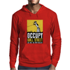 Occupy Walll Street Protest 90 perecnt Mens Hoodie