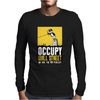 Occupy Walll Street Protest 90 perecnt Mens Long Sleeve T-Shirt