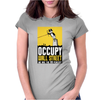 Occupy Walll Street Protest 90 perecnt Womens Fitted T-Shirt