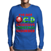 OCD Obsessive Christmas Disorder Mens Long Sleeve T-Shirt