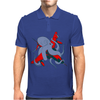 Octopus and aircraft Mens Polo