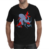 Octopus and aircraft Mens T-Shirt