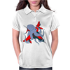 Octopus and aircraft Womens Polo
