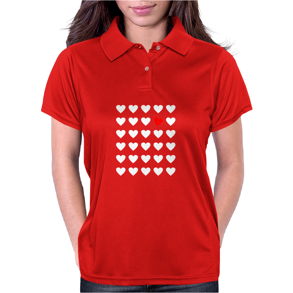 odd heart out Womens Polo