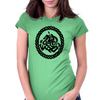 Odin and Sleipnir Womens Fitted T-Shirt