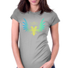 Odio Eagle arcoiris Womens Fitted T-Shirt