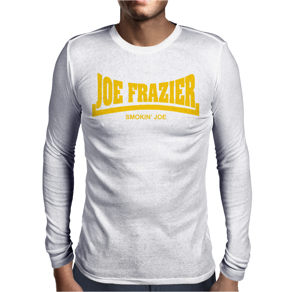 oe Frazier Smokin Joe Mens Long Sleeve T-Shirt