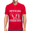 Official Christmas Lights Stringer Mens Polo