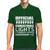 Official Christmas Lights Stringer Upper Mens Polo
