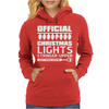 Official Christmas Lights Stringer Upper Womens Hoodie
