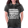 Official Christmas Lights Stringer Upper Womens Polo