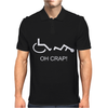 oh crap funny Mens Polo