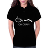 oh crap funny Womens Polo