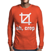Oh Crop Mens Long Sleeve T-Shirt