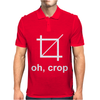 OH CROP. Mens Polo