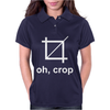 OH CROP. Womens Polo