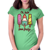 Oh Hello Brain Freeze Womens Fitted T-Shirt