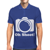 Oh Shoot Camera. Mens Polo