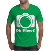 Oh Shoot Camera. Mens T-Shirt