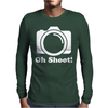 Oh Shoot Mens Long Sleeve T-Shirt
