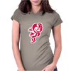 Ohio mascot Womens Fitted T-Shirt