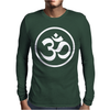 Ohm Aum Um Yoga Mens Long Sleeve T-Shirt