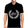 Oi Laurel Punk Rock Mens Polo
