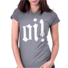 Oi Punk Rock Womens Fitted T-Shirt