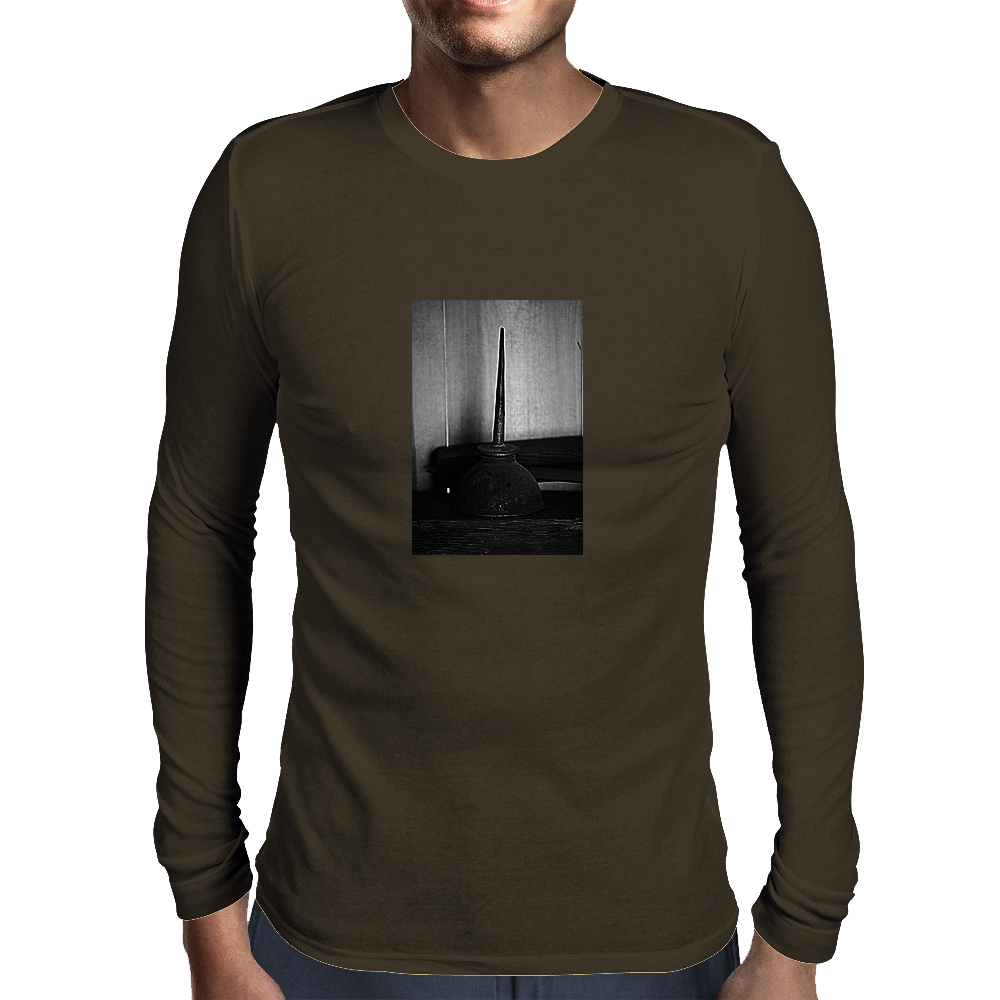 Oil Can Mens Long Sleeve T-Shirt