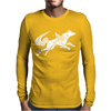 Okami Tribute Wolf Ladies Mens Long Sleeve T-Shirt