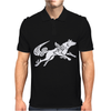 Okami Tribute Wolf Ladies Mens Polo