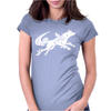 Okami Tribute Wolf Ladies Womens Fitted T-Shirt
