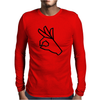 Okay symbol Mens Long Sleeve T-Shirt