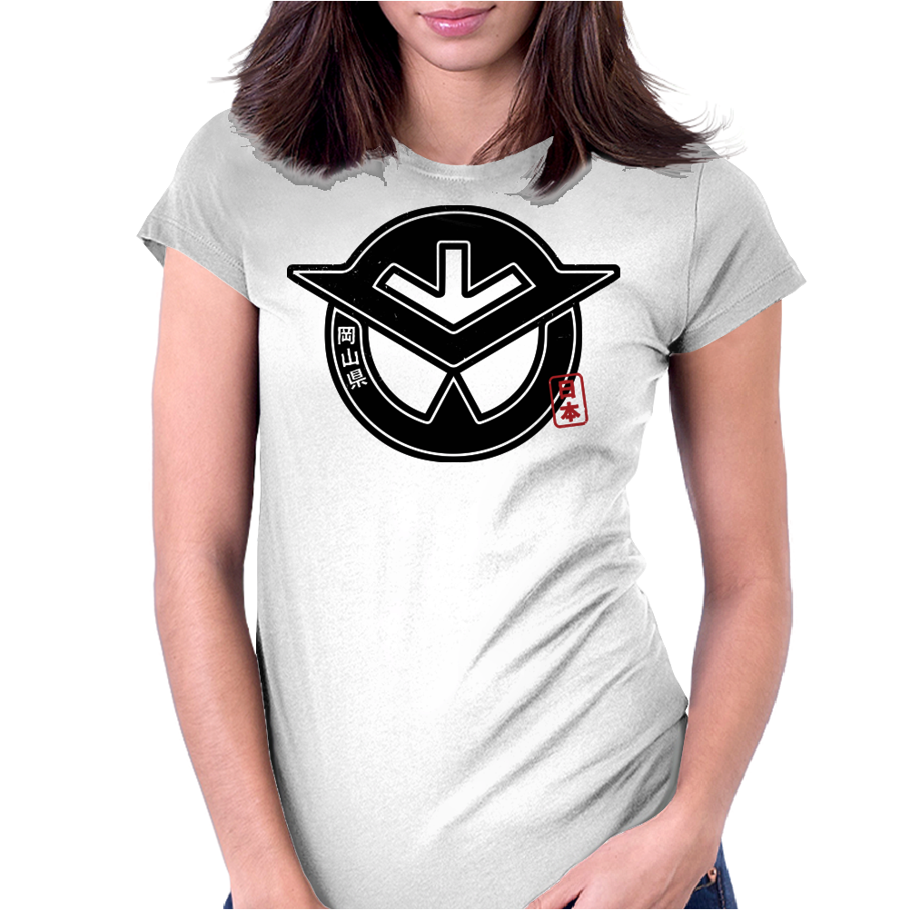 OKAYAMA Japanese Prefecture Design Womens Fitted T-Shirt