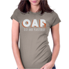 Old And Plastered OAP LADIES Womens Fitted T-Shirt