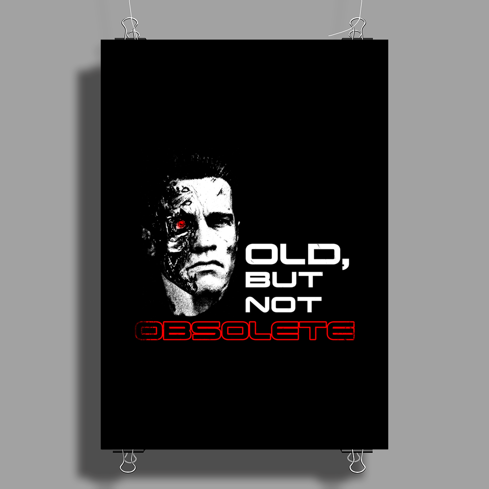 Old but not obsolete Poster Print (Portrait)
