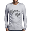 Old Friends (741 Op-Amp and 555 Timer Chips) Mens Long Sleeve T-Shirt