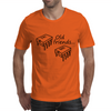 Old Friends (741 Op-Amp and 555 Timer Chips) Mens T-Shirt