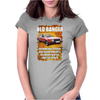 Old FUNNY Banger Cortina, Ideal Gift or Christmas Present. Womens Fitted T-Shirt