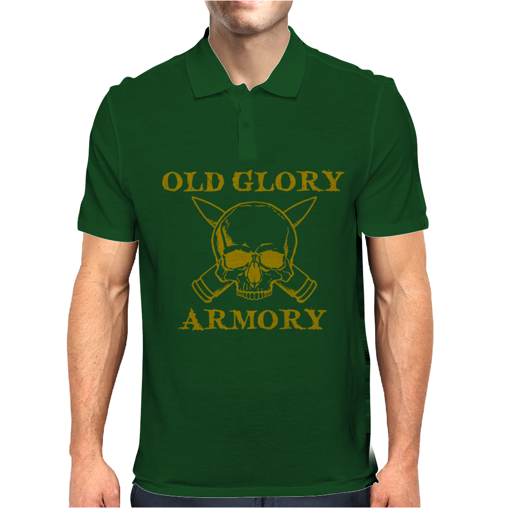 Old glory armory Mens Polo
