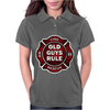 Old Guys Rule Badge Of Honor Womens Polo
