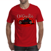 Old Guys Rule Classic Rat Rod Smoke Mens T-Shirt