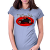 Old Guys Rule Classic Rat Rod Smoke Womens Fitted T-Shirt